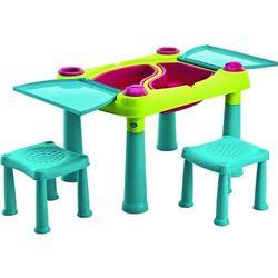 Stolik KETER 231593 dla dzieci Zielono-turkusowy