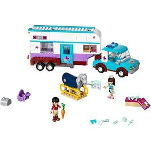 LEGO Friends, Przyczepa lecznicza dla koni, 41125