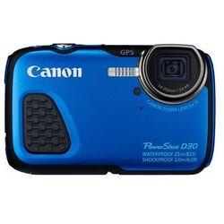 Canon PowerShot D30, cyfrówka bez wizjera