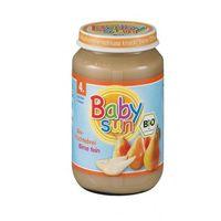 Baby sun 4 mc deser gruszka bio 190g (4003246036013)