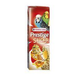 VERSELE-LAGA Prestige Sticks Budgies Honey 60 g - Kolby Miodowe Dla Papużek Falistych- RÓB ZAKUPY I ZBIERAJ PUNKTY PAYBACK - DARMOWA WYSYŁKA OD 99 ZŁ - produkt z kategorii- Pokarmy dla ptaków