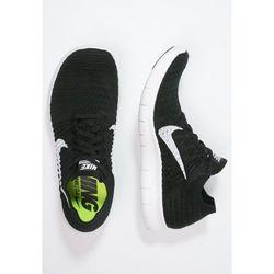 Nike Performance FREE RUN FLYKNIT Obuwie do biegania neutralne schwarz/weiß