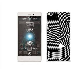 Fantastic Case - Allview X1 Soul - etui na telefon Fantastic Case - biało-czarna mozaika z kategorii Futerał
