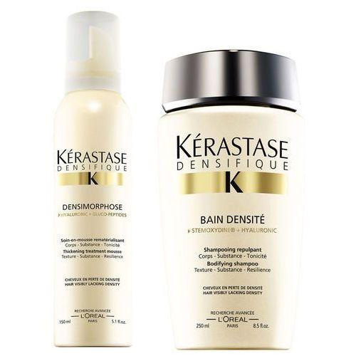Kérastase Densifique Bain Densite (250ml) and Mousse Densimorphose (150ml) z kategorii kosmetyki do włosów