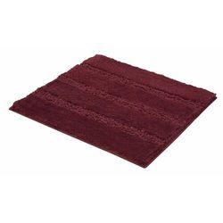 Kleine Wolke dywanik łazienkowy Monrovia 60x60 cm, czerwony