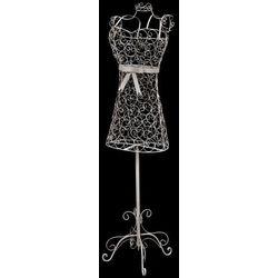 Vidaxl metalowy wieszak/forma na sukienkę w stylu vintage