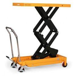 Podnośny stół BSD o maksymalnym obciążeniu 800 kg