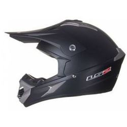 KASK  MX433 RACE SOLID MATT BLACK model 2015, produkt marki LS2