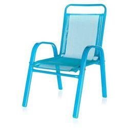 Happy Green Krzesełko ogrodowe dziecięce niebieski 50XT2930A - produkt z kategorii- Krzesła ogrodowe