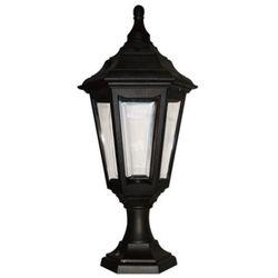 Elstead Zewnętrzna lampa stojąca kinsale ped/porch  klasyczna oprawa ogrodowa słupek ip44 outdoor latarnia czarny
