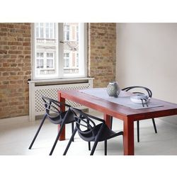 Stylowy stół dębowy brązowy 180x90x75 cm MAXIMA