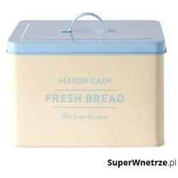 Mason cash Pojemnik na pieczywo 10l baker's authority kremowo-błękitny
