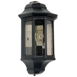 Zewnętrzna LAMPA ścienna NEWBURY GZH/NB7 Elstead kinkiet OPRAWA ogrodowa IP44 outdoor czarny - produkt z kategorii- Lampy ogrodowe