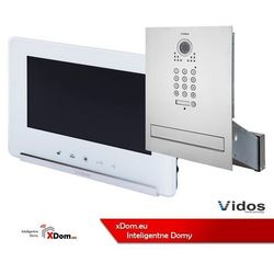 Zestaw wideodomofonu skrzynka na listy z szyfratorem s561d-skm m690w marki Vidos