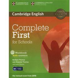 Complete First for Schools 2nd Edition. Ćwiczenia z Kluczem + CD (Cambridge University Press)