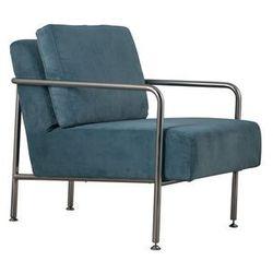 Zuiver Fotel X-BANG RIB niebieski 3000524, 3000524