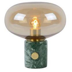 charlize 03520/01/62 lampka biurkowa 1x40w e27 bursztynowo/zielona marki Lucide