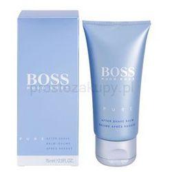 Hugo Boss Boss Pure balsam po goleniu dla mężczyzn 75 ml + do każdego zamówienia upominek., kup u jednego