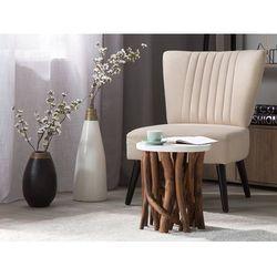 Stolik kawowy biały - ława - kawowa - stół - HOUMA (4260586350128)