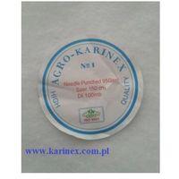 Agrokarinex Geowłóknina 90 g/m2, biała 1,6 x 50 mb. rolka.