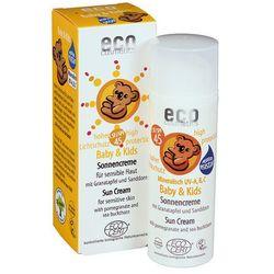 ECO Cosmetics – Krem na słońce faktor SPF45 dla dzieci i niemowląt 50ml ()