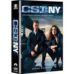 CSI Kryminalne zagadki Nowego Jorku, sezon 1 (DVD) - Imperial CinePix, kup u jednego z partnerów