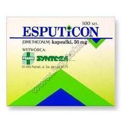 ESPUTICON x 100 kapsułek (lek na wzdęcia)