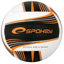 Piłka siatkowa SPOKEY 837395 Gravel II Czarno-Pomarańczowy (rozmiar 5), kup u jednego z partnerów