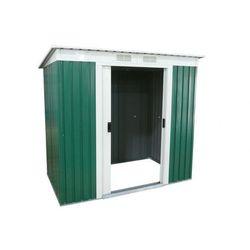 Altana ogrodowa z zielonej galwanizowanej stali ringo - 3 m2 marki Vente-unique