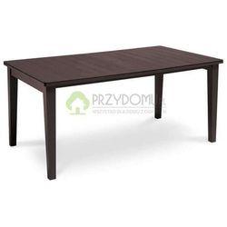 Stół ogrodowy FUTURA 165 brązowy