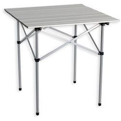Aluminiowy stół ogrodowy składany 70 x 70 cm