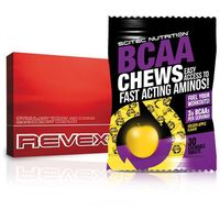 SCITEC Revex 16 - 108caps + BCAA CHEWS GRATIS - Golden Apple