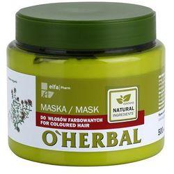 O'herbal thymus vulgaris maseczka do włosów farbowanych wyprodukowany przez O'herbal