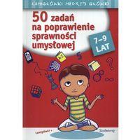 50 zadań na poprawienie sprawności umysłowej, oprawa kartonowa