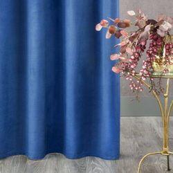 Zasłona gotowa rosa granatowa 135 x 270 marki Design by eurofirany