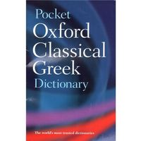Pocket Oxford Classical Greek Dictionary (462 str.)
