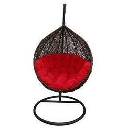 :: fotel wiszący cocoon czarno -czerwony - miloo :: fotel wiszący cocoon czarno-czerwony ||czarno-czerwony, marki Miloo