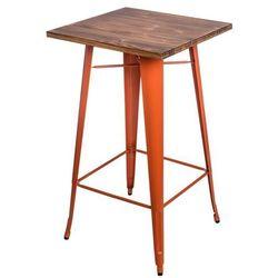Stół barowy Paris Wood sosna - pomarańczowy (5902385708425)