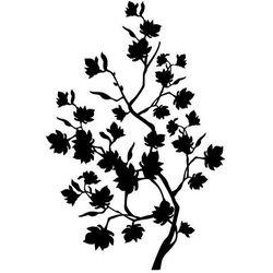 Szabloneria Szablon malarski, wielorazowy, wzór flora 168 - kwitnące drzewo