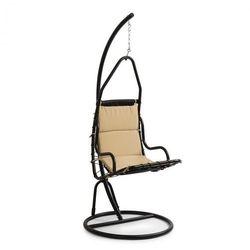 Blumfeldt Serramazzoni EggChair, Fotel wiszący poduszka na siedzisko, brązowy