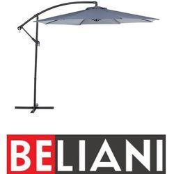 Beliani Parasol ogrodowy Ø300 cm antracytowy ravenna (4260580936250)