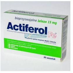 Actiferol fe 15 mg x 30 sasz - proszek suplementy ciążowe