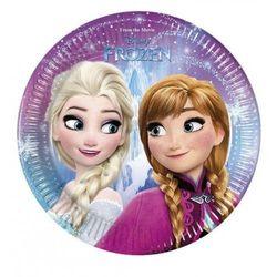 Talerzyki urodzinowe Frozen - Kraina Lodu - 20 cm - 8 szt.