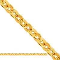 Złoty łańcuszek dmuchany brilantata ld101 od producenta Nie