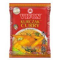 Vifon Kurczak Curry Zupa błyskawiczna o smaku kurczaka ostra 70 g