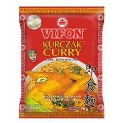 Vifon Kurczak Curry Zupa błyskawiczna o smaku kurczaka ostra 70 g - sprawdź w wybranym sklepie