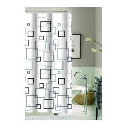 Galicja zasłonka prysznicowa 180 x 180 poliestrowa 9947 wz 16 kwadraty