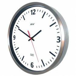 Zegar ze stali nierdzewnej Super Cichy #2 /30cm, AS02SC1