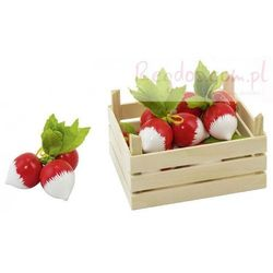 Goki Warzywa w skrzynce, rzodkiewki, 5 elementów., kategoria: skrzynki i walizki narzędziowe