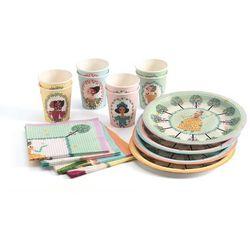 Djeco, Księżniczka, zestaw urodzinowy - produkt dostępny w Smyk
